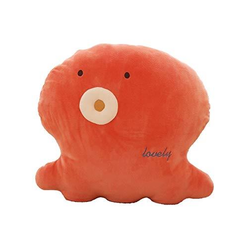 N / A Cartoon Marine Life Plüsch Kissen Weiches Kissen Seepferdchen Octopus Whale Batfish Tier Plüschtier Valentinstag Kinder Geburtstagsgeschenk 30-65CM