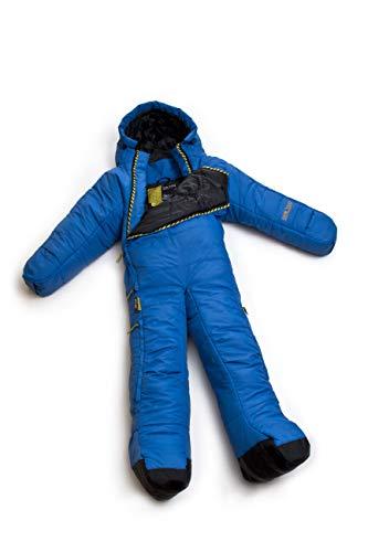 SelkBag Original Walking Sleeping Bag Faser, Polyester Blau