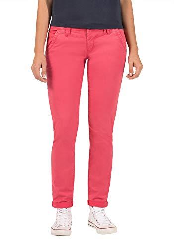Timezone Damen NaliTZ Slim Jeans, Rot (Dark pink 5060), W24