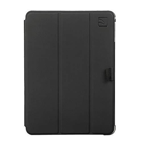"""Tucano Guscio - Funda tipo libro con tapa extraíble, compatible con iPad Air 1, iPad Air 2, iPad Pro 9,7"""", y iPad 9,7"""" 2017 / 2018. Tapa negra y carcasa posterior transparente."""