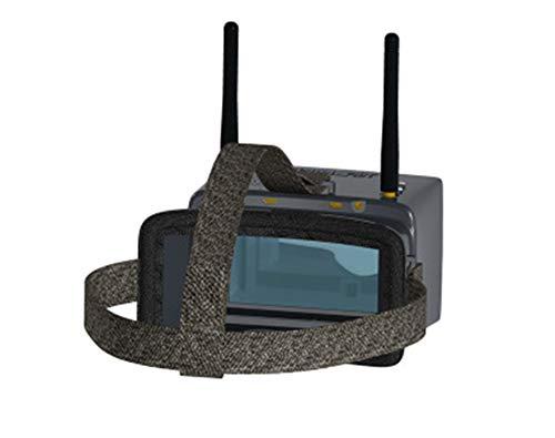 OMJNH 5 Pouces Écran FPV, La Transmission De l'image 5.8G Réception sans Fil Antenne À Double Entrée HDMI Réception 48 Bande