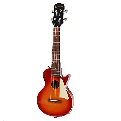 Epiphone Les Paul Acoustic Electric Ukulele Outfit Concert Heritage Cherry Sunburst エレクトリックウクレレ