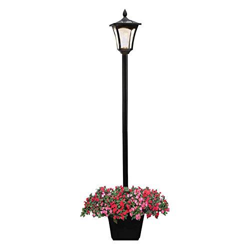 Solar Lamp Post Light,65 Inch Solar Powered Street Light Waterproof Decorative Solar Garden Light for Lawn, Pathway, Driveway, Front/ Back Door