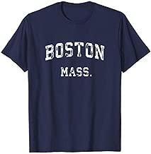 Boston Massachusetts MA T-Shirt Vintage Athletic Sports Tee T-Shirt