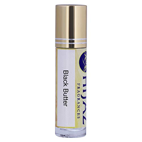Black Butter Fragrance Alcohol Free Cologne Body Oil 1/3 oz Roll on Bottle