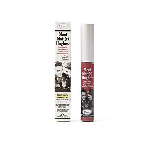 theBalm Meet Matt(e) Hughes Liquid Lippenstift,Brilliant,1er Pack (1 x 7.4 ml)