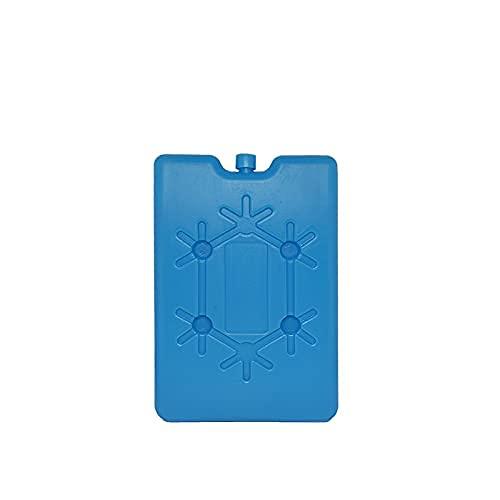 VIRSUS Acumulador de frío, 4 unidades de baldosas de 200 ml, cada una de las bolsas térmicas de color azul, pastillas de hielo, icepack refrigerante para mar, picnics, vacaciones