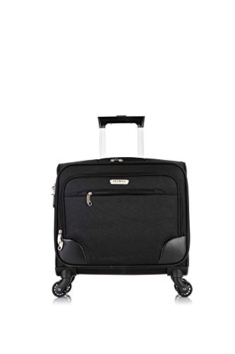 Flymax Rolling Laptop Case on 4 Wheels - Fits Most Laptops up to 16'