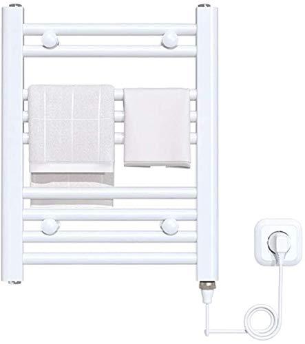 Rieles de toalla con calefacción para baños, calentadores de toallas eléctricos, tendedero...