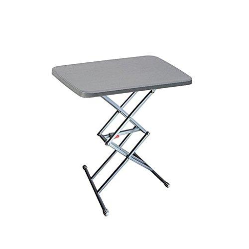 Petite table de camping pliante portable réglable en hauteur multifonction pour pique-nique en extérieur en aluminium léger