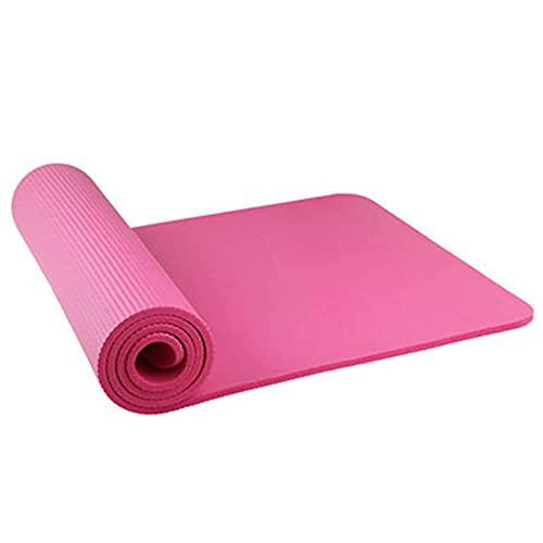 Yumhouse Diseñado para Ejercicio físico,Colchoneta de Yoga Sleepy Alfombra de Pista de Baile para niños Fitness-Pink_183 * 90 * 1.5,Adecuado para Yoga y Fitness.