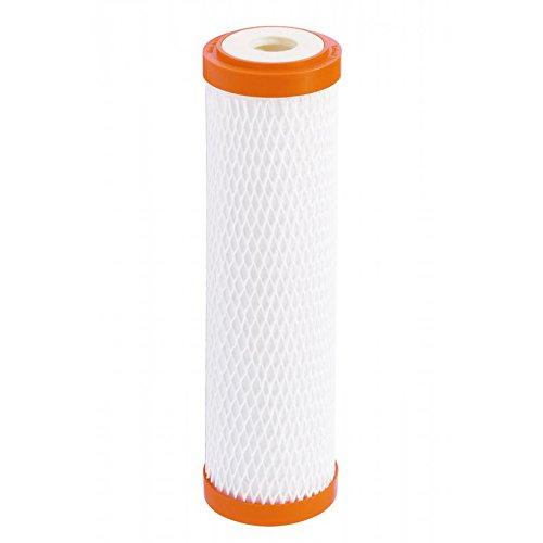 Carbonit Cartucho de filtro Monoblock IFP Puro, cartucho blanco y naranja
