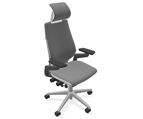 Steelcase Gesture Office Desk Task Chair with Headrest...