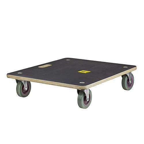 DEMA Möbelroller Siebdruckplatte 590x480 mm 400 kg
