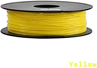 // 0.05 mm 250g Amarillo eFil 1.75mm TPU Filamento flexible de poliruetano