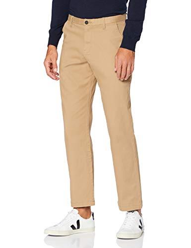 MERAKI Pantaloni Chino in Cotone Uomo, Beige (beige)., 40W / 32L, Label: 40W / 32L