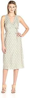 MINKPINK Women's Olive Wrap Midi Dress