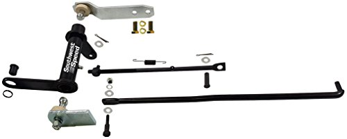 NEW 1957 CHEVY CLUTCH PEDAL LINKAGE KIT WITH BRACKET, CLUTCH CROSS SHAFT Z BAR, CLUTCH FORK ADJUSTING PUSH ROD, SPRINGS, WASHERS, BOLTS