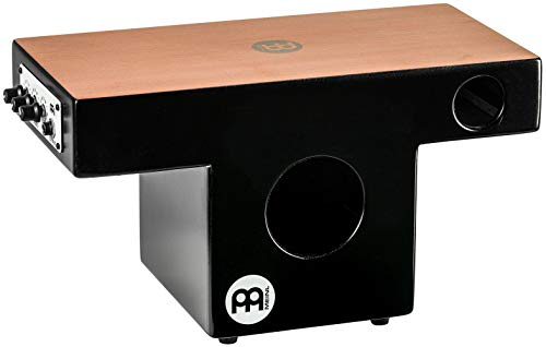 Meinl Pickup Slaptop Cajon Box Drum with Internal Snares and Forward Projecting Sound Ports Mahogany review