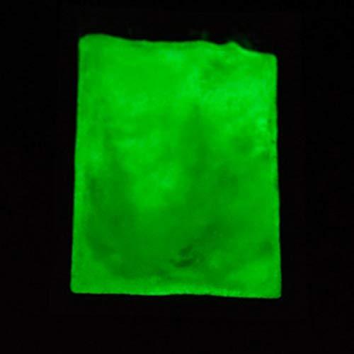 Decdeal Colorato Fluorescente,10 g/Borsa,Pigmenti Luminescenti,Sicuro,Non Tossico e Non Radioattivo, Innocuo per La Pelle Umana,Fai da Te Arte Forniture