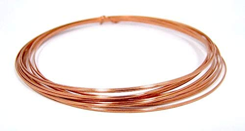 Half Round 1 2 Hard 20 GA Makers and Jewelry Wir Copper Crafters Tampa Mall Max 65% OFF