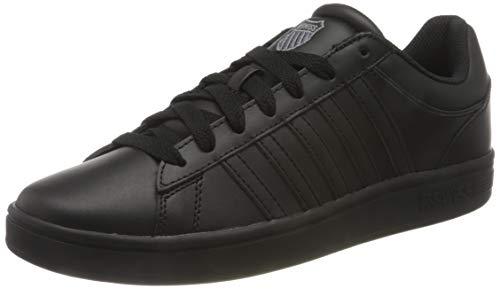 K-Swiss Herren Court Winston Sneaker, Schwarz, 44.5 EU