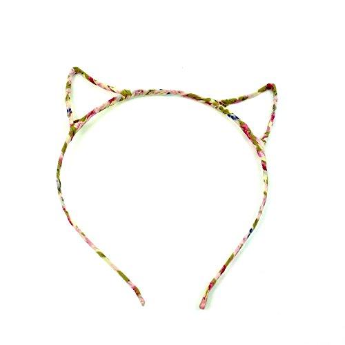 rougecaramel - Accessoires cheveux - Serre tête oreille de chat - multicolore