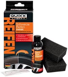 QUIXX 10192 Schwarze Reifen-Farbe Reifenschwarz  Reifenfarbe schwarz Reifenglanz Reifenpflege