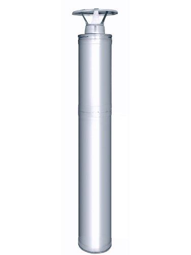 Stahlschornstein 1500 inklusive: