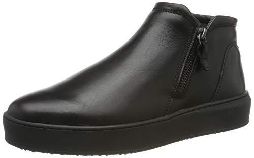 Tamaris Damen 1-1-24708-23 Sneaker, Schwarz (Black LEA. Uni 5), 41 EU