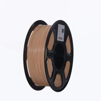 ABS Filament Stampante 3D filamento 1,75 Millimetri 1kg Materiali for la Stampa 3D plastica Stampa a Filament tenacità (Colore: Giallo) DDLS (Color : Skin)