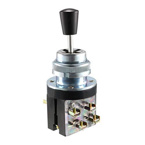 Joystick - Conmutador de 4 posiciones, 8 NO, tipo AC 380 V, 3 A, 30 mm, panel Mount LSS1-42