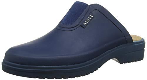 Aigle Damen Egoa Sabot Clogs, Blau (Marine 001), 36 EU