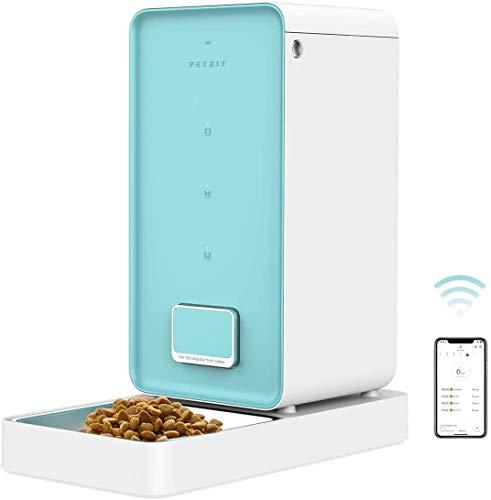 PETKIT Distributeur Automatique de Nourriture de Haute Précision - Chats et Chiens, Contrôle de l'application, Grande Capacité, pas de Confiture de Nourriture