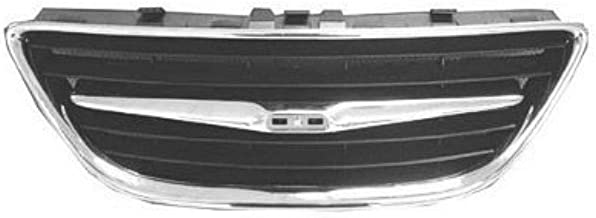 OE Replacement Saab 9-3 Grille Assembly (Partslink Number SB1200102)