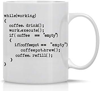 Coffee Program 11oz Coffee Mug Nerd Engineer Idea for Men Science Mug Great Gag for Programmer product image