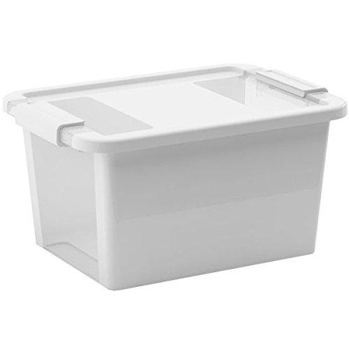 Kiss Kis Aufbewahrungsbox Bi Box 11 Liter in grau-transparent, Plastik, 36.5x26x19 cm