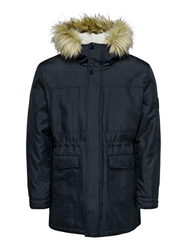 ONLY & SONS Male Parka Langer MDark Navy