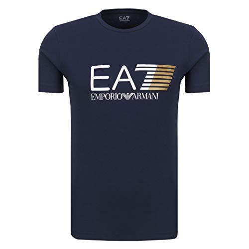 Emporio Armani Camiseta Hombre EA7 3ZPT62 PJ03Z, T-Shirt Cuello Redondo, Manga Corta...