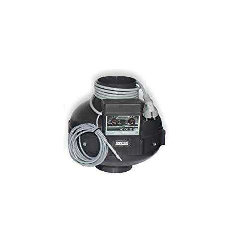 Extractor Prima Klima – Ø160 mm – 800 m3/H – Termostato/regulador