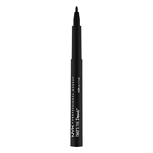 NYX Professional Makeup Eyeliner líquido That's The Point Eyeliner Punta  3  cónica y rígida A Bit Edgy color Negro