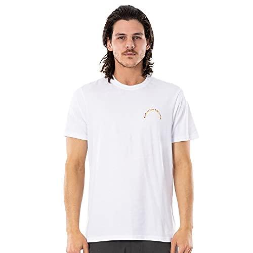 Rip Curl Heren T-Shirt Surf Revival Butter Tee - White S