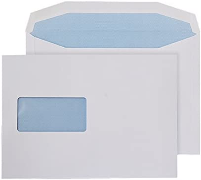 Q-Connect price Machine Envelope 162 x 238 mm Large special price W Gummed gsm 90 Window -