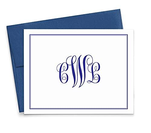 Personalized Monogram Stationery Set