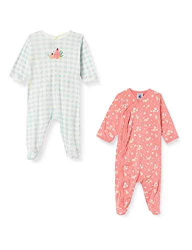 Petit Bateau Baby-Mädchen A00HP00 Nachthemd, Multicolor, 12 Mois