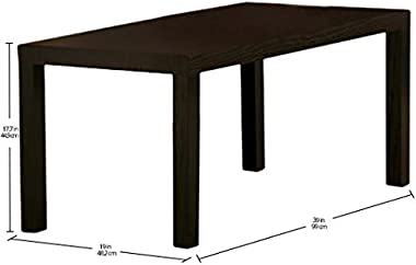 Ameriwood Home Parsons Coffee Table, Espresso