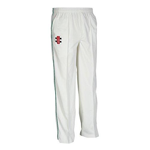 Gray Nicolls Pantalon de Cricket Matrix – Junior Blanc cassé Crème 5-6 Ans
