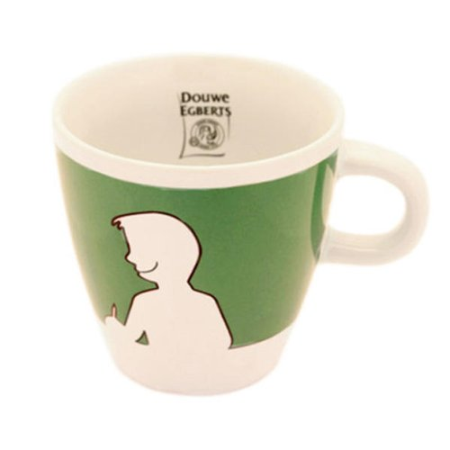 Douwe Egberts Design People, Kaffee Becher, Tee Tasse, Porzellan, Grün, 260 ml