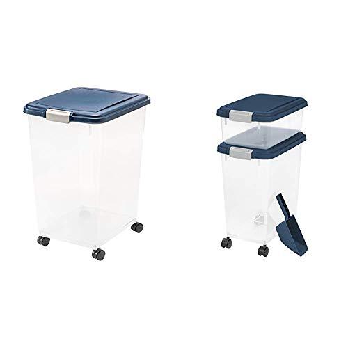 Great Price! IRIS USA, Inc. IRIS Airtight Food Storage Container, 54-Pounds, No Scoop 3 Piece Airtig...