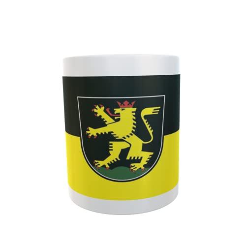 U24 Tasse Kaffeebecher Mug Cup Flagge Heidelberg